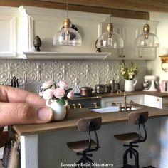 1:12 Dollhouse Miniature Mini Sticky Board Chopping Block Kitchen T wa