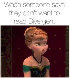 Anna and Divergent Disney Princess Frozen, Anna Frozen, Princess Anna, Film Frozen, Divergent Trilogy, Divergent Insurgent Allegiant, Divergent Fandom, Disney Films, Disney And Dreamworks
