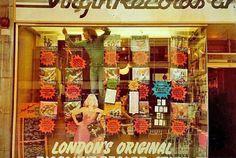 "Virgin window inc. Plastic Letters; Kill City; Buzzcocks L.P. in ""PRODUCT"" plastic bag; Kate Bush's The Kick Inside and more."