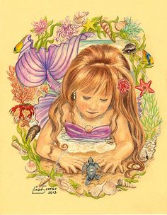 Little Mermaid by Artsy50.deviantart.com on @DeviantArt