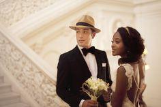 Mariage rétro années Folles - Trianon Wedding Photography - La Fiancée du Panda blog mariage & lifestyle