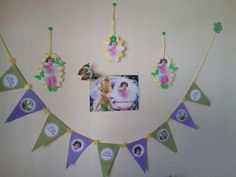 Birthday wall decos  made at home .print it and cut it :)