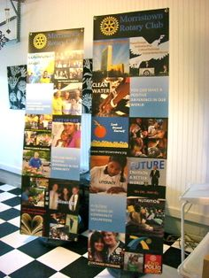 Morristown Rotary Club Banners