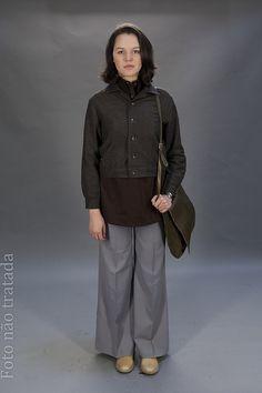 Luísa Cardoso (Joana de Verona) - moda de Lisboa dos anos 70