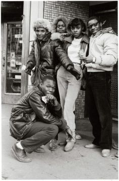 A Time Before Crack by Jamel Shabazz *posted by Hip Hop Fusion
