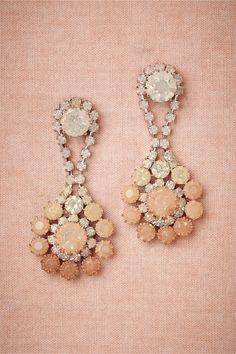 product | Peachy Ombre Earrings in New at BHLDN #mwbridalstyle #bhldnbride