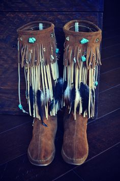 Cheap Boho Clothing Tulsa Style Fringes Boots Boho
