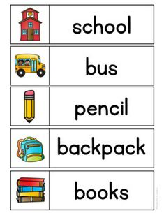Preschool Word Walls, Word Wall Kindergarten, Kindergarten Language Arts, Preschool Learning Activities, Writing Activities, Beginning Of School, Back To School, Ingles Kids, September Preschool