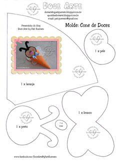 Espero que vocês gostem!!!   Este molde também está disponível na nossa fan page   https://www.facebook.com/DoceArteByPatiGuerrato   Curta ...