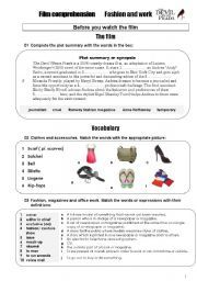 English worksheet: Genres of Movies | Film resources - book to ...