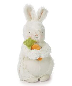 Loving this Bunches Bunny Plush Toy on #zulily! #zulilyfinds