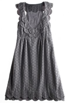 Calypso Eyelet Dress - great for all seasons. it can be worn alone or with a tissue t underneath. excellent