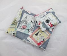 This is a lovely little make up bag or pencil case that has been made with grey fabric with vintage, Paris chic style images on it and it is fully lined with waterproof fabric. You will also receive a fully lined coin purse from the same fabric. Paris Chic, Waterproof Fabric, Grey Fabric, Christmas Stockings, Two By Two, Coin Purse, June, Handmade Items, Pencil