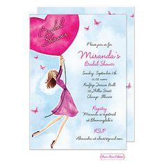 Bonnie Marcus Bridal Shower Invitations and Wedding Shower Invitations - Ooh La La Printables