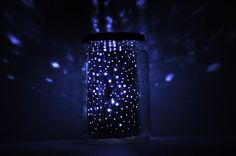 yay! a way to make those lights-in-a-bottle without a plug-in light source. check this out!!