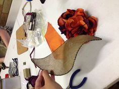 Sinamay and silk Fascinator by Stephanie King #millinery #judithm #hats