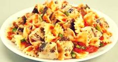 Chicken and Bow Tie Pasta Recipe is a tasty & super delicious American dish. American Dishes, American Food, American Recipes, Indian Food Recipes, Healthy Recipes, Ethnic Recipes, Chicken Pasta Recipes, Recipe Chicken, Macaroni And Cheese
