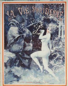 Chéri Hérouard (1881 – 1961). La Vie Parisienne, 7 Janvier 1922. [Pinned 27-xi-2020]