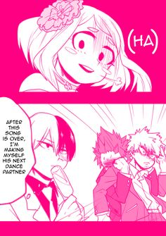 Boku no Hero Academia Misc — Uraraka almost had to cap a bitch~! ☆ Source:...
