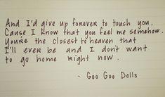 **SUCH A GOOD SONG!**   Iris - Goo Goo Dolls