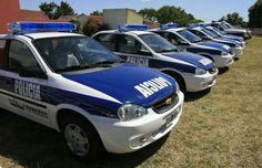 Chevrolet Corsa . Policia de la Provincia de Buenos Aires