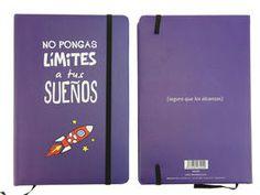 LIBRETA NO PONGAS LIMITE*14X21