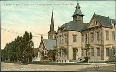 Central School, Trinity and Congregational Church