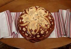 The Korovai (Ukrainian wedding bread)