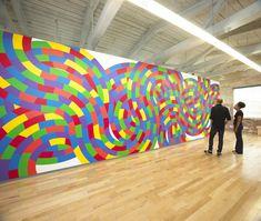 Sol LeWitt: A Wall Drawing Retrospective at MASS MoCA.