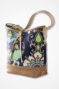Blooming Bright Tote - Coldwater Creek