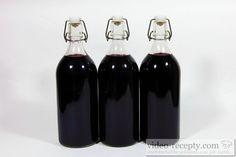 Recept Sirup z černého bezu - nejlepší láhve pro sterilaci