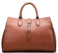 Gucci Jackie Soft Leather Top Handle Bag 362970 Brown - $259.00