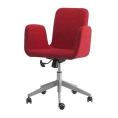 PATRIK Sedia da ufficio IKEA Regolabile in altezza, per garantire una seduta confortevole.