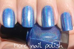 DIY holographic nail polish (OPI DS Glamour dupe)