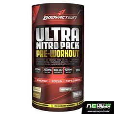 Ultra Nitro Pack traz uma combinação perfeita de nutrientes que visam proporcionar melhores rendimentos no treinamento de atletas de todas as modalidades.