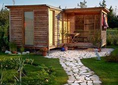 Gartenhaus schwedenstil  Die Skizze zu unserem Gartenhaus | Garten | Pinterest ...