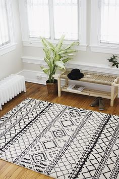 Target Aztec rug as seen on the blog: @themerrythought