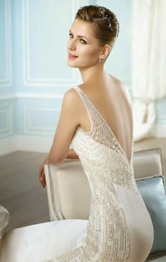 Link Camp: Amazing Wedding Dress 2014 Collection (41) - San Patrick 2014 Bridal Collection
