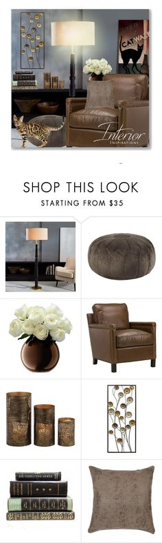 """""""Neutral Ground"""" by leanne-mcclean ❤ liked on Polyvore featuring interior, interiors, interior design, home, home decor, interior decorating, West Elm, JLA Home, Home Decorators Collection and Stratton Home Décor"""