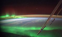 Flying through an aurora   Alexander Gerst from ISS