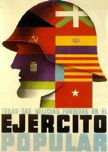 La Marsellesa - La guerre civile espagnole 1936-1939 - Reconstitution