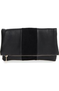 BP. Tonal Stripe Foldover Clutch available at #Nordstrom