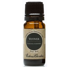 Vetiver also has a powerful effect on moods by promoting serenity and calm. Helpful with ADD