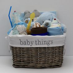 Handsome like daddy baby boy gift basket baby boy gift baskets baby boy gift basket baby shower gift newborn gift storage basket negle Gallery