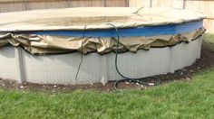 Garden Hose Pool Covers And Swimming Pools On Pinterest
