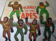 Planet Of The Apes 1970s Toys, Cheap Toys, Planet Of The Apes, Childhood Toys, Tarzan, King Kong, The Good Old Days, Old Toys, Kitsch
