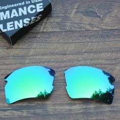TAN Polarized Sunglass Lenses Replacement for-Oakley Flak 2.0 XL-Green Mirrored
