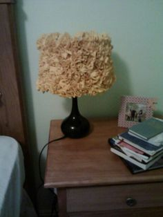 DIY lamp shade!