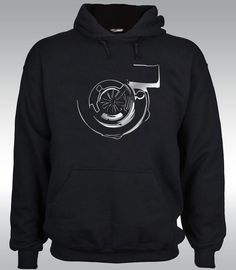 Turbo Hoodie Long sleeve t shirt Boost JDM Tuning Drift Dragster  Silver  #SOLS #BasicTee