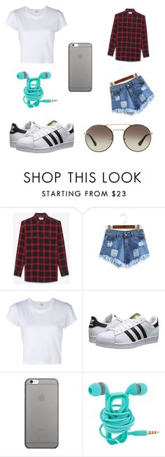 """""""Esportivo"""" by jadyeleng on Polyvore featuring Yves Saint Laurent, RE/DONE, adidas Originals, Native Union and Prada"""
